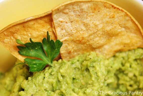 Clean Eating Chips And Guacamole Recipe