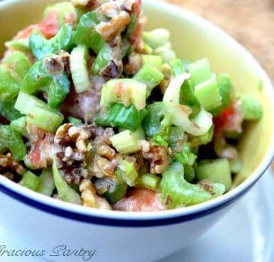 Clean Eating Citrus Celery Salad