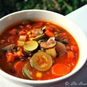 Clean Eating Minestrone Soup