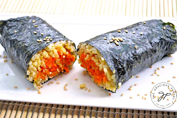 Nori Carrot Wraps Recipe
