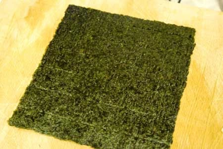 Clean Eating Nori Carrot Wrap Recipe