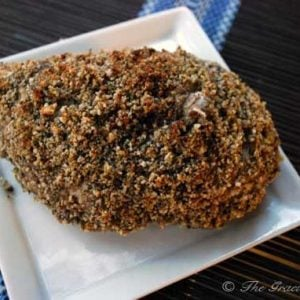 Clean Eating Nut Crusted Baked Chicken