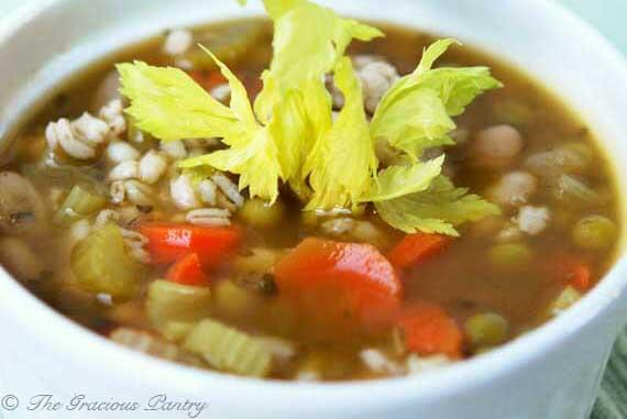 Beans And Barley Soup