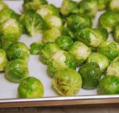 Clean Eating Roasted Brussels Sprouts