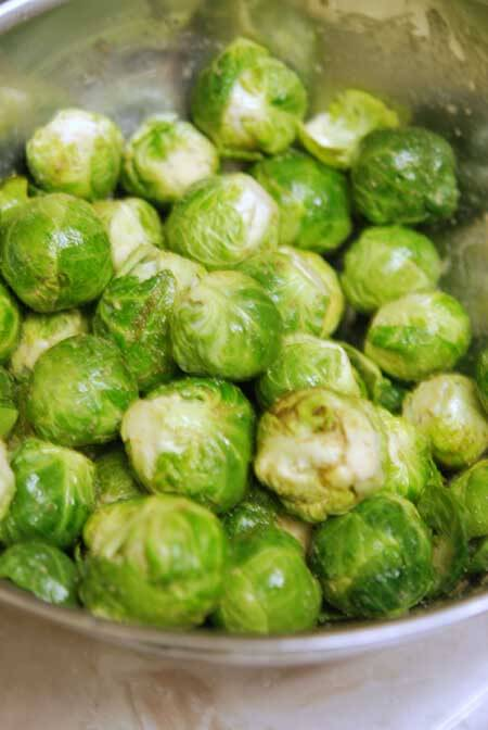 Clean Eating Seasoned Brussels Sprouts Recipe