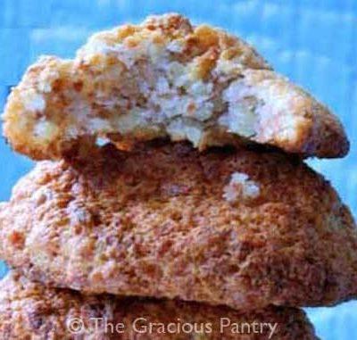 Clean Eating Almond Honey Cookies Recipe