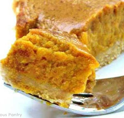 Clean Eating Pumpkin Pie Recipe
