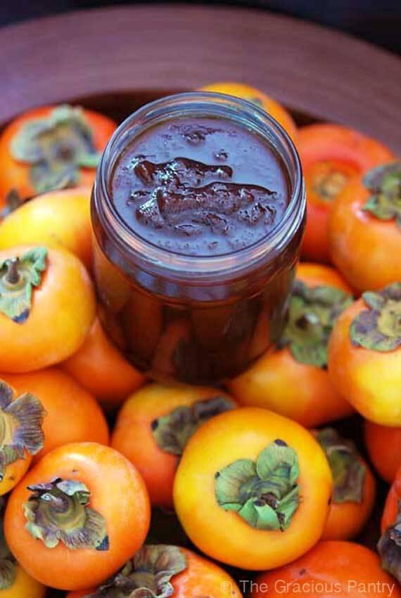 Clean Eating Persimmon Jam