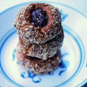 Clean Eating German Thumbprint Cookies