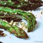Clean Eating Baked Almond Asparagus