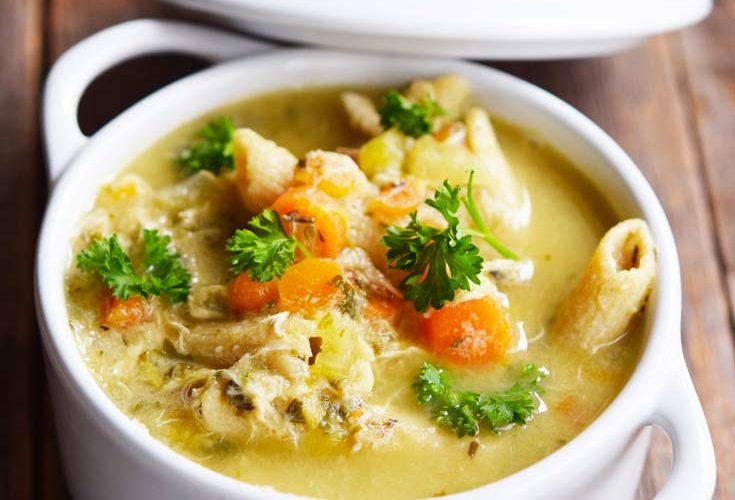 Clean Eating Chicken Soup Recipe