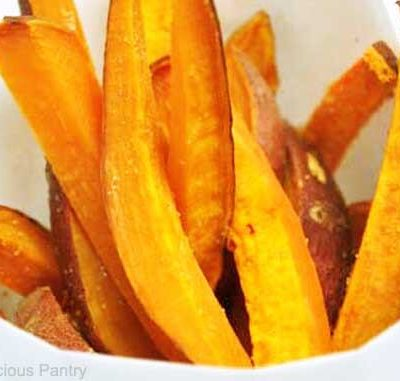 Clean Eating Sweet Potato Fries Recipe