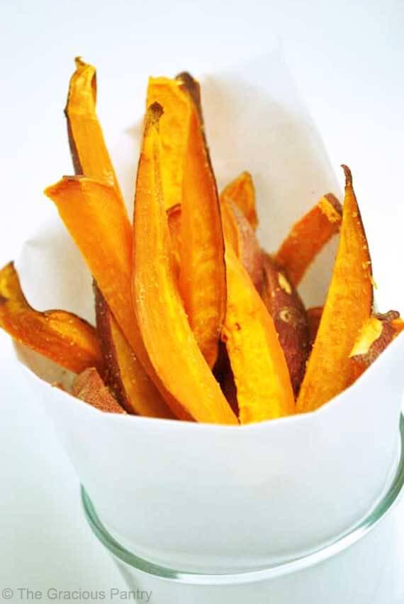 Clean Eating Sweet Potato Fries