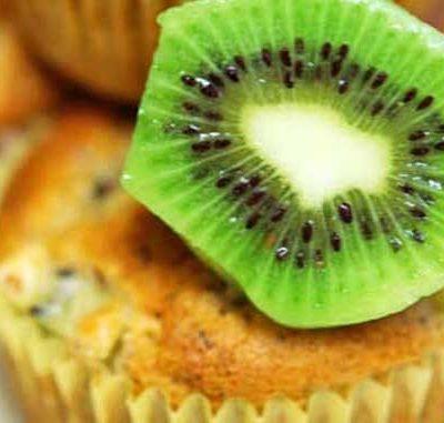 Clean Eating Kiwi Muffins Recipe