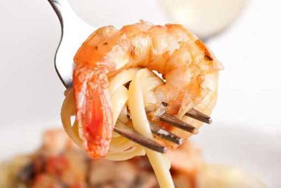 Clean Eating Shrimp Scampi Recipe
