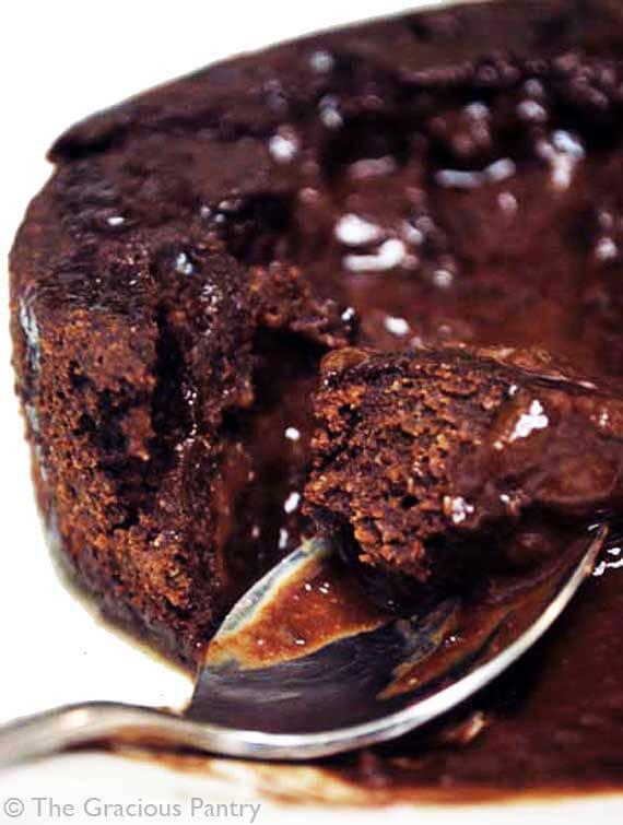 Non Dairy Chocolate Lava Cake