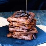Clean Eating Brownie Waffles Recipe