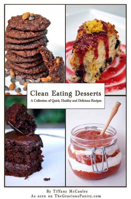 Clean Eating Desserts cover.