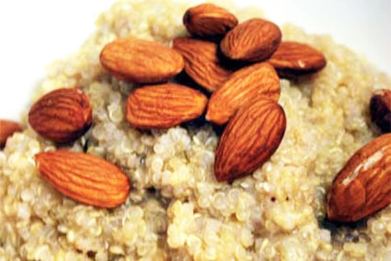 Clean Eating Banana Almond Quinoa