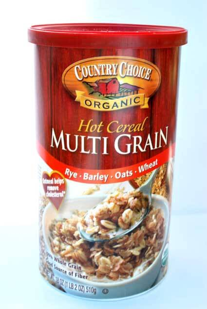 The package of grains I used to make this Clean Eating Granola recipe.