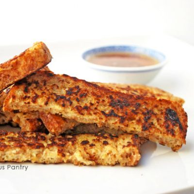 Clean Eating French Toast Strips Recipe