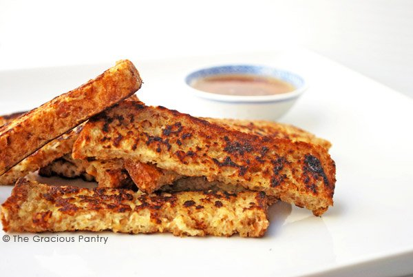 Clean Eating French Toast Sticks Recipe