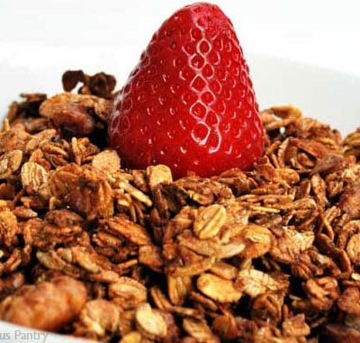 Clean Eating Granola Recipe