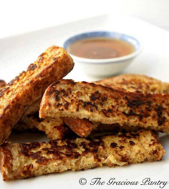 recipe french toast strips