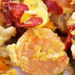 Clean Eating Shrimp And Egg Scramble