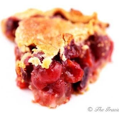 Clean Eating Cherry Pie
