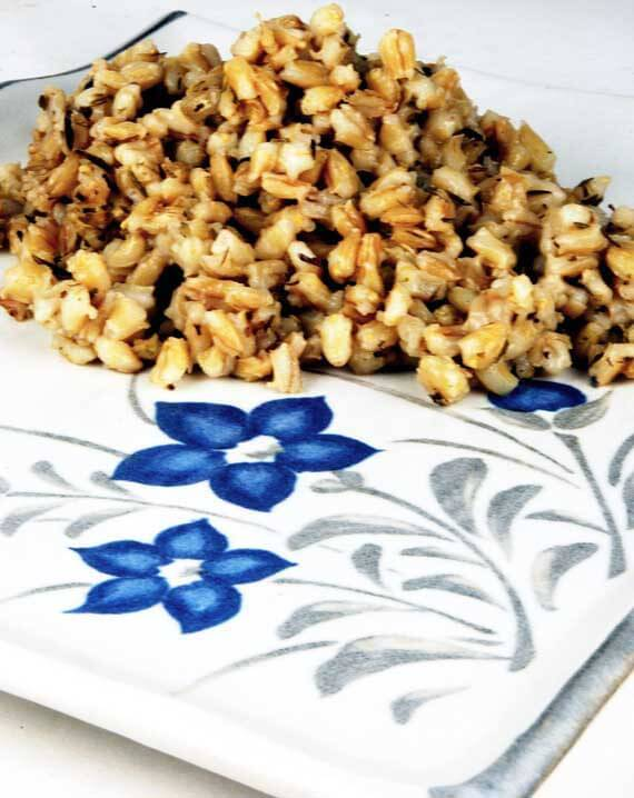 Clean Eating Savory Barley