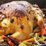 Clean Eating Whole Roasted Chicken