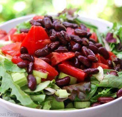 Clean Eating Garden Salad