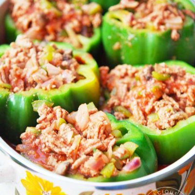 Clean Eating Stuffed Bell Peppers Recipe
