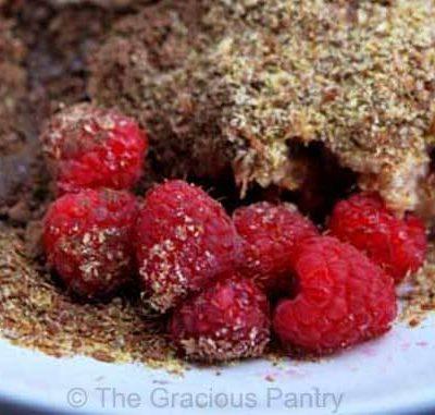 Clean Eating Dark Cocoa Raspberry Oatmeal