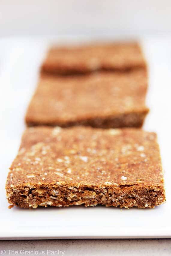 Clean Eating Pumpkin Spice Protein Bars