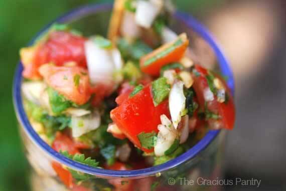 Clean Eating Cilantro Salsa Recipe