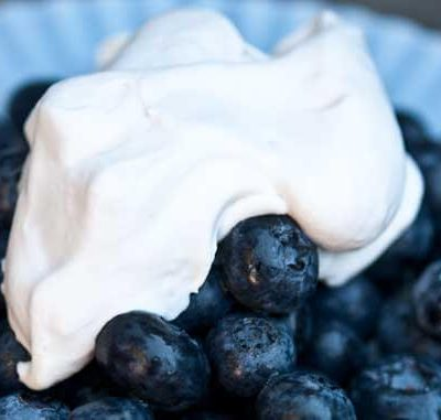 Clean Eating Coconut Whipped Cream Recipe