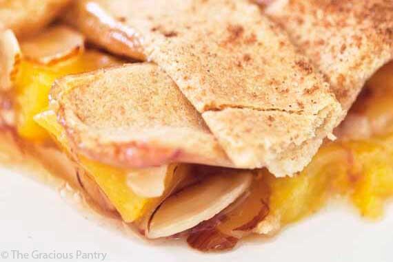 Peach Cobbler Recipe (With Almonds)