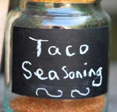 Clean Eating Taco Seasoning Recipe