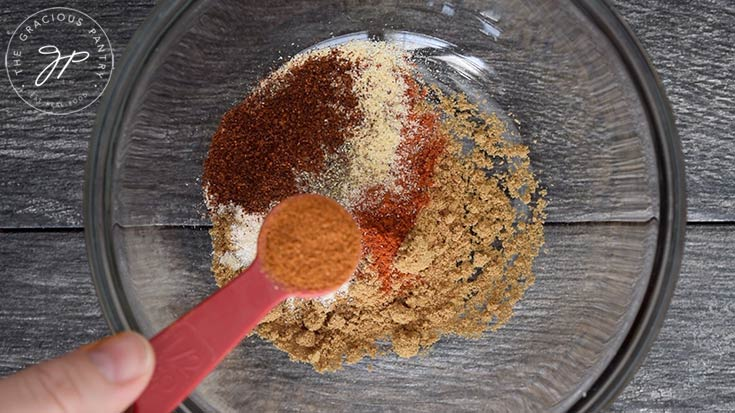 The optional teaspoon of cayenne to make this taco seasoning spicey.
