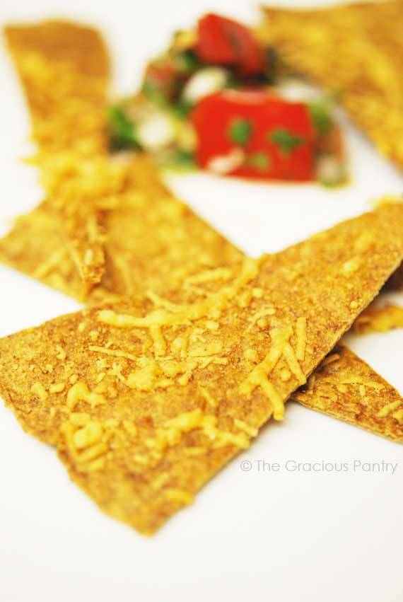 Clean Eating Wheat Tortilla Chips Recipe The Gracious Pantry