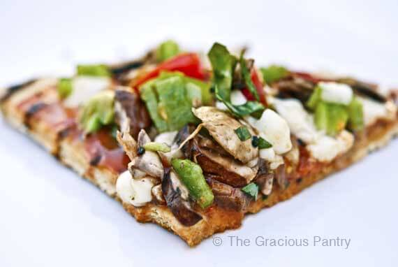 Clean Eating BBQ Pizza