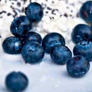 Clean Eating Blueberry Cottage Cheese