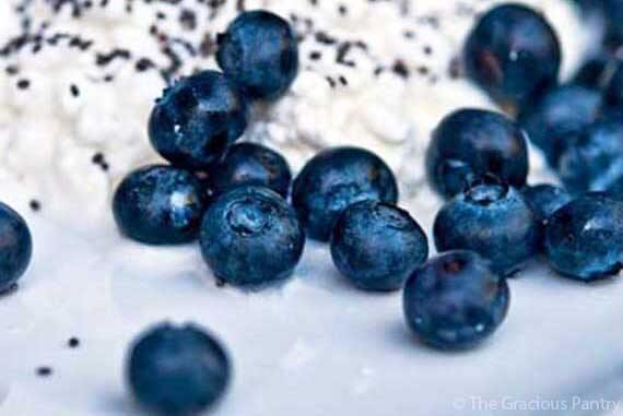 Clean Eating Blueberry Cottage Cheese Recipe