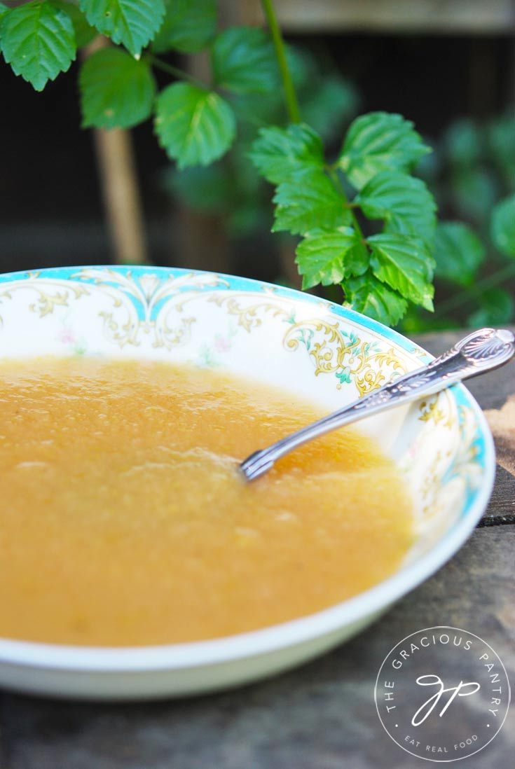 Clean Eating Apple Sauce Recipe