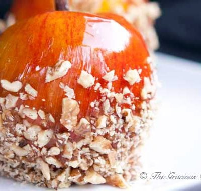 Clean Eating Candied Apples Recipe