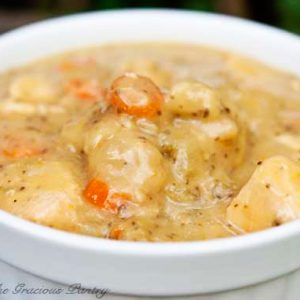Clean Eating Chicken And Dumplings Recipe