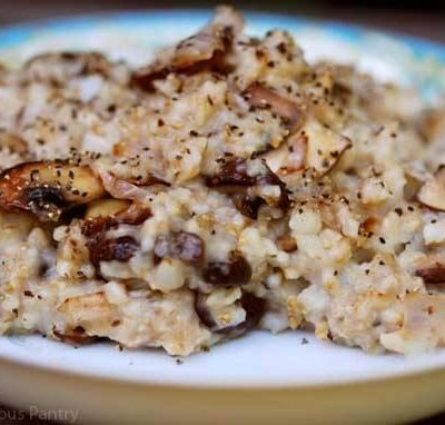Clean Eating Savory Oatmeal Recipe