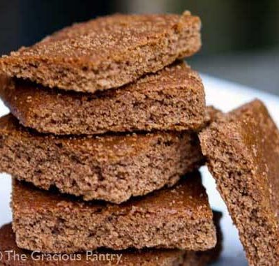 Clean Eating Graham Cracker Cookies